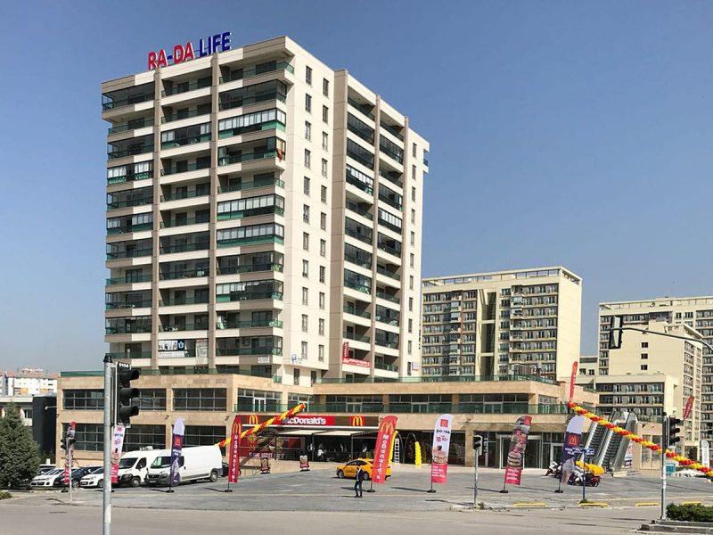 Eryaman Rada Park AVM'de Kiralık Dükkanlar
